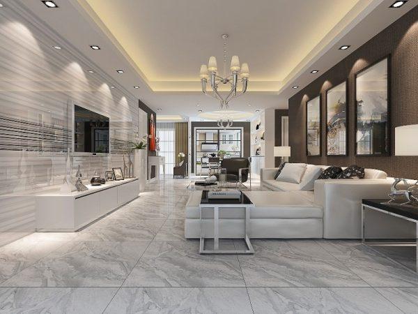 Cách chọn gạch ốp tường phòng khách