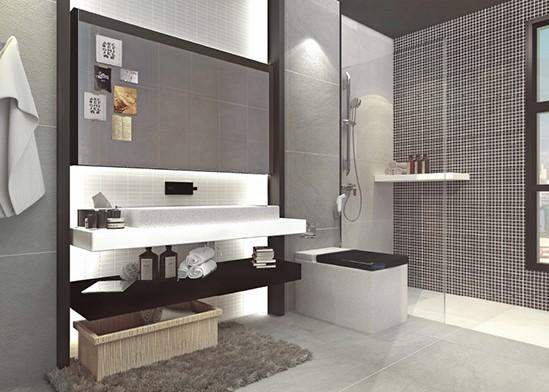 các loại gạch ốp tường nhà tắm