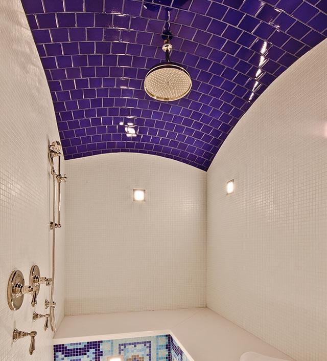 gạch trần phòng tắm